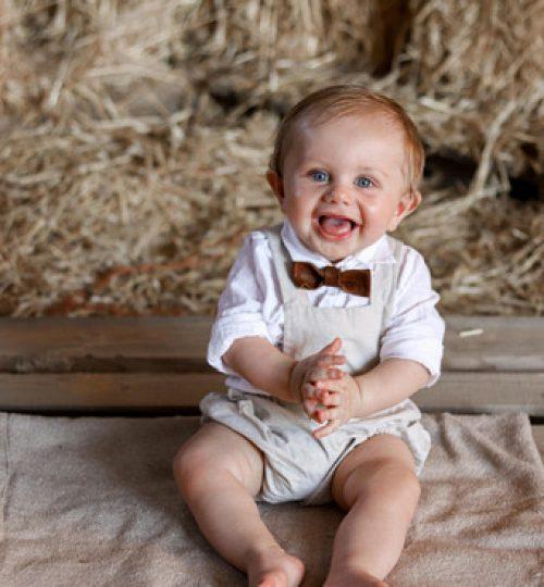 Grayson Baby at Dedication