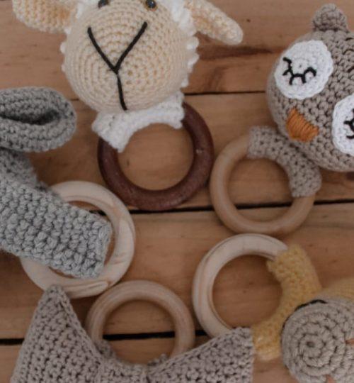 PPK Crochet Teethers