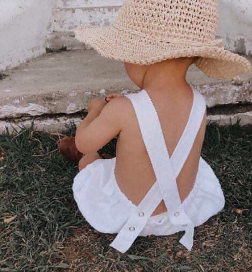 PPK Summer Loving Linen Dungaree